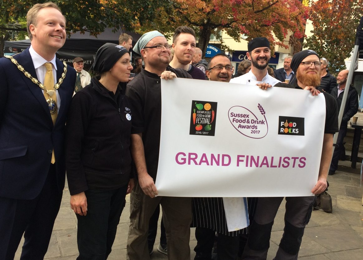 Sussex Street Food Category Finalists 2017!