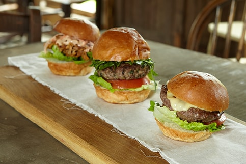Garlic Wood Catering - burgers