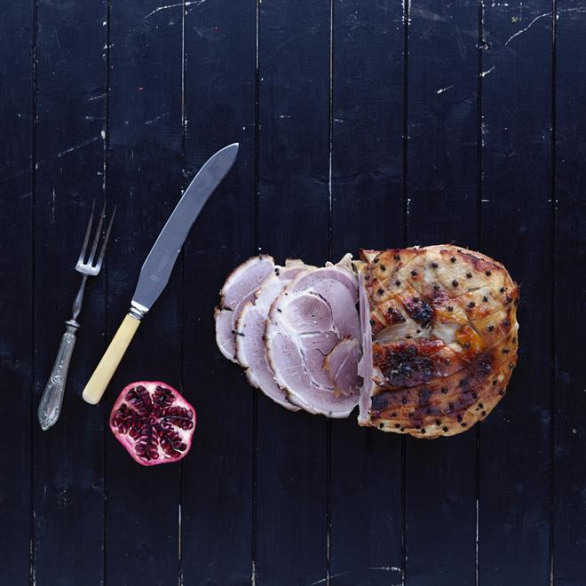 free-range ham